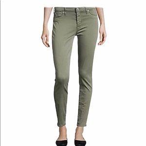 HUDSON Nico Midrise Ankle Super Skinny Grey jeans